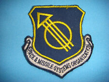 PATCH US AIR FORCE  SPACE & MISSILE SYSTEMS ORGANIZATION
