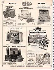 Dunlop / Romac / Patchquick / U-Need-It - Motor Cyle Repair Kit Advert