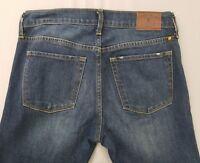 LUCKY BRAND OLIVIA FLARE Womens High Rise Dark Denim Jeans Size 2/26