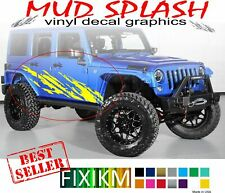4x4 mud off-road graphics decals for Jeep Wrangler Grand Cherokee Liberty Willys