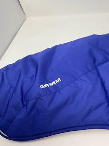Ruffwear Quinzee Jacket New No Tags Size Medium Huckleberry Blue Warm Reflective