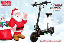 Electric Scooter 2000W 60V Viper Duel New 2020 Model, Christmas Sale