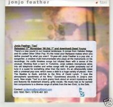 (K642) Jonjo Feather, Taxi - DJ CD