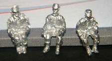 SHQ SS40 1/76 Diecast WWII German SS Panzer Grenadiers Drivers for Vehicles