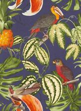 Unusual, Parrot, Toucan, Jungle, Paradisio Wallpaper, Solid Vinyl, Washable