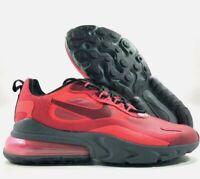Nike Air Max 270 React CI3866-600 Gym Red Black Team Red Men's Running Shoes NIB