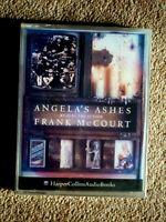 FRANK McCOURT - ANGELA'S ASHES ( NEW )  -  AUDIO BOOKS -           (2 CASSETTES)