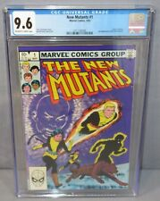 THE NEW MUTANTS #1 (2nd appearance) White Pages CGC 9.6 NM+ Marvel Comics 1983