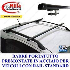 BARRE PORTATUTTO BMW X3 (E83) DAL 01/2004 AL 10/2010 CON RAILS PORTA PACCHI