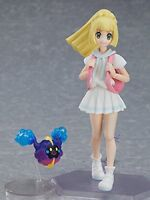 figma Pokemon Lillie action figure Cosmog Clefairy 135mm MAX FACTORY