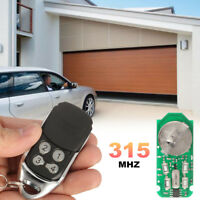 4 Channel 315MHz Garage Door Remote Control Opener For Liftmaster   + .+