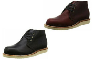 Mens Chippewa USA Made Wedge Sole Chukka Boot Horween Leather 4025