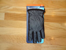 New Mens Isotoner Winter Gloves Smartouch Driving Touch Screen Grey Black M/L