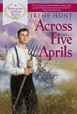 Across Five Aprils by Irene Hunt (2002, Hardback)