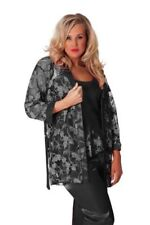 Plus Size Polyester Floral Sleepwear for Women