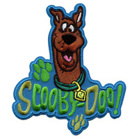 Officially Licensed Scooby-Doo! Embroidered Iron On Patch
