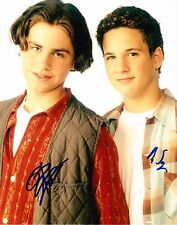 BEN SAVAGE RIDER STRONG SIGNED 8X10 PHOTO AUTOGRAPH BOY MEETS WORLD PROOF COA A