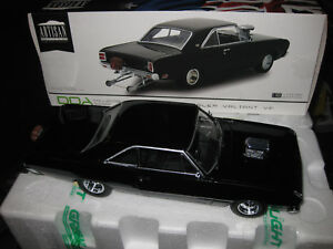 1/18 GREENLIGHT DDA 1969 CHRYSLER VALIANT VF PACER  HEMI DRAG CAR BLACK LTD ED
