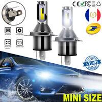H4 110W 30000LM LED Phare de Voiture Ampoule CREE Headlight 6000K Xénon Blanc