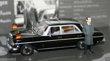 Voitures, camions et fourgons miniatures noirs en acier embouti pour Mercedes