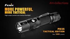 Fenix pd35 TAC CREE XP-L v5 LED Torcia Flashlight 1000 lumen Strobe + BATT