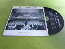 DUOLOGUE - SONG & DANCE !!!!!!!!RARE CD PROMO!!!!!!!!!