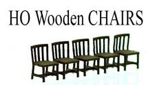 Scale Structures LTD, SS Ltd style CHAIRS....CHAIRS 5 Pack HO scale finished