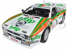 LANCIA 037 #4 RALLY PORTUGAL 1985 TOTIP 1/18 DIECAST CAR MODEL BY KYOSHO 08302E