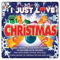 I Just Love Christmas 3 CD BOXSET Family Party Gift idea - Songs and Carols