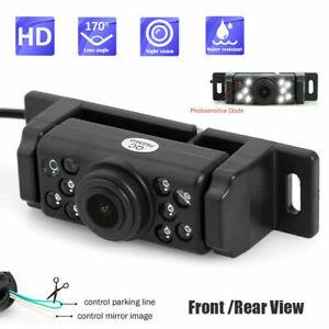 Reverse Camera Waterproof Car Front Rear View Backup Parking HD Night Vision CAM