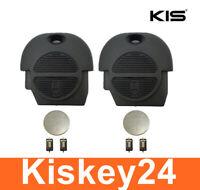 2x Schlüssel Gehäuse für NISSAN ALMERA MICRA X-TRAIL+ 4x TASTER + 2x Batterie