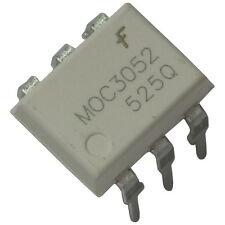 5 MOC3052 Fairchild Optokoppler 7,5kV 600V 10mA Triac-Driver-Output DIP-6 855744