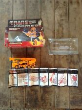 Vintage Hasbro 1985 Original Transformers G1 Autobot Architect Grapple with Box