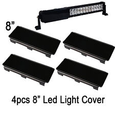 "32"" INCH Snap on Black Lens Cover for LED Light Bar Offroad ATV SUV TRUCK BOAT"