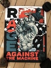 More details for rage against the machine pitchgrim lithograph bola numbered sold out