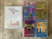 RETRO Music Audio Cassette Tape Bundle Dance Compilations x 5 Various 1990's