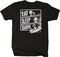 Eat Sleep Video Game Gamer Tshirt