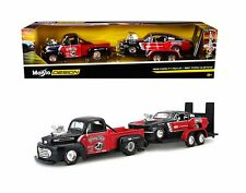 Maisto Design Elite 1948 Ford F1 Pickup / 1967 Mustang 1 24 Scale