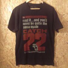 catch 22 t shirt. literature books best seller classic joseph heller vintage M