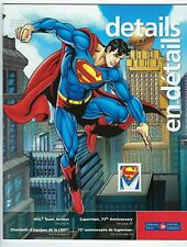 2013 Canada Stamps and Collectibles Superman 75th anniversary + NHL catalog.
