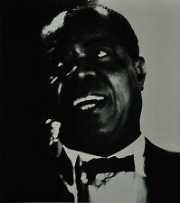Chargesheimer Original 1961 30x40cm Louis Armstrong Jazz Porträt Köln Konzert SW