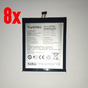 """8x Original Akku für Alcatel One Touch Pop 3 5.5"""" CAC2910008C1 TLp029A1 2900mAh"""