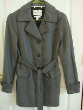 Banana Republic Women's Long Sleeve Gray Coat Size Medium New Without Tag
