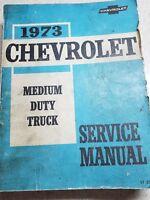 1973 Chevrolet Service Manual Medium Duty Truck