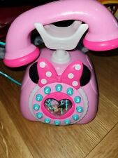 Official Disney Minnie Mouse talking telephone