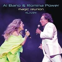 AL BANO & ROMINA POWER - MAGIC REUNION *LIVE*   CD NEW!