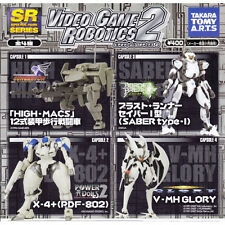 SR Video Game Robotics 2 - Complete Set of Four - New Import - Takara Tomy Arts