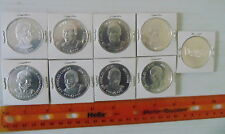 1985-86 Denny's Los Angeles Lakers Coins 8 Different Jabbar Worthy Rambis +