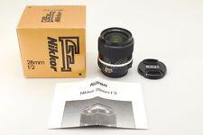 【Near Mint 】Nikon NIKKOR Ai-s 28mm f/2 Box ais wide angle MF 28 2 from japan 335