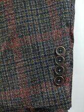 Daniel Cremieux 3 Button Multicolor Tweed Blazer Sport Coat Jacket Mens 42R